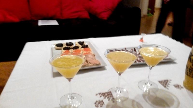 Cocktail ananas citron vert