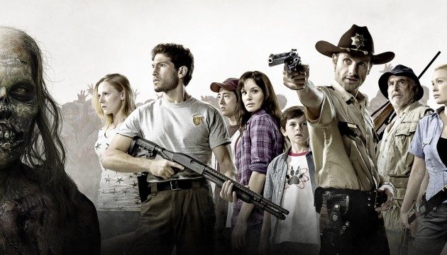 the walking dead et la nra