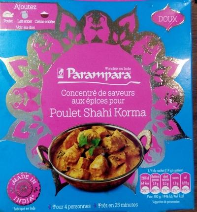 Poulet Shahi Korma